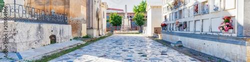 Foto op Canvas Begraafplaats Panoramic cemetery of San Miguel, Malaga, Andalucia