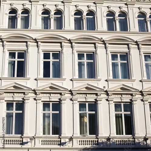Fachada de edificio clásico