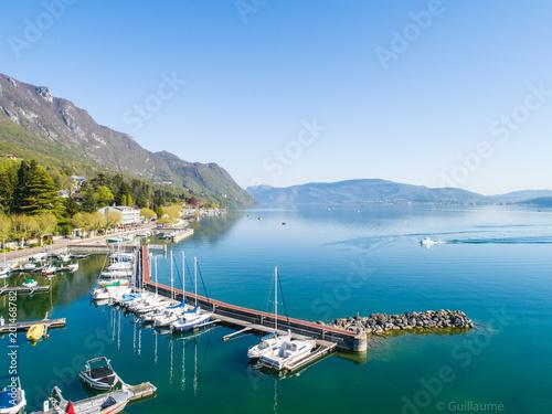 Obraz na płótnie Lac du Bourget