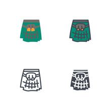 Kilt Men Skirt Dress Clothes F...