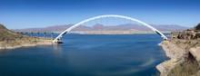 Bridge Over The Salt River At Theodore Roosevelt Dam At Hwy 188, AZ, USA