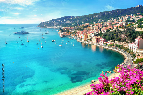 Printed kitchen splashbacks Europa Villefranche sur Mer, Cote d Azur, French Riviera, France