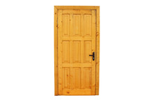 Wooden Lacquered Door With A B...