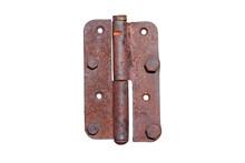 Old Rusty Metal Door Hinge. Cl...