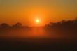canvas print picture - Sonnenaufgang/ Sonnenuntergang