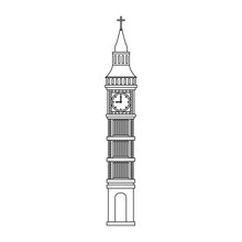 Big Ben Clock Vector Illustrat...