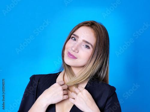 Foto  Belleza y seducción en la mirada