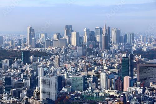Spoed Foto op Canvas Tokyo Shinjuku Ward, Tokyo