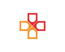 Hospital Logo And Symbols Temp...