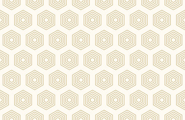 Fototapeta Do kawiarni Pattern seamless abstract background black gold color and line. Geometric line vector.