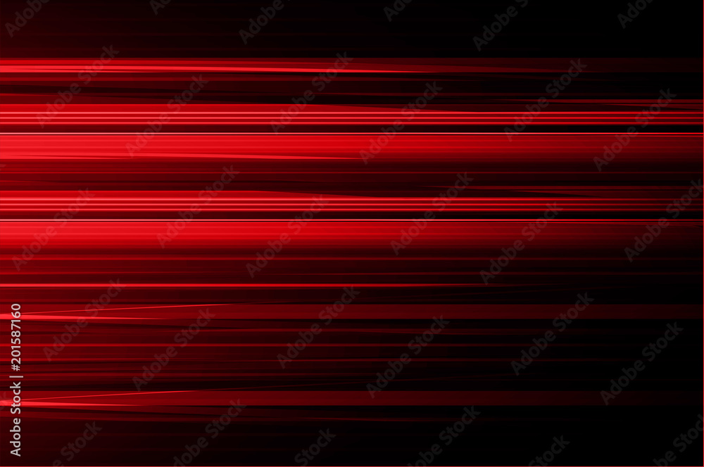 Fototapety, obrazy: red motion move abstract background vector, fast