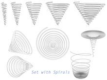 Set With Spirals