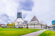 Metropolitan Cathedral In Liverpool, England