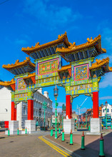 View Of The Chinatown Gate In ...