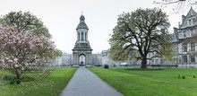 Campus Of Trinity College, Widely Considered To Be The Most Prestigious University In Ireland, And Amongst The Most Elite In Europe