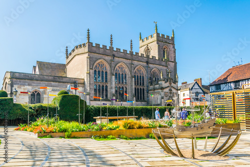 The guild chapel in Stratford upon Avon, England Poster Mural XXL