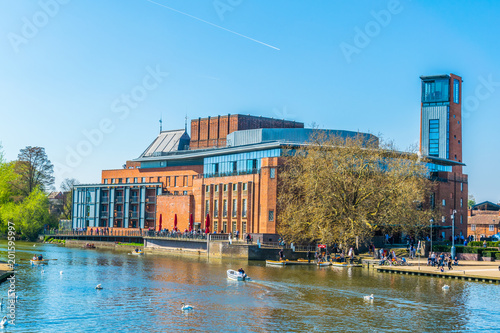 Fotografie, Obraz  View of the Swan theatre hosting the Royal Shakespeare Company in Stratford upon
