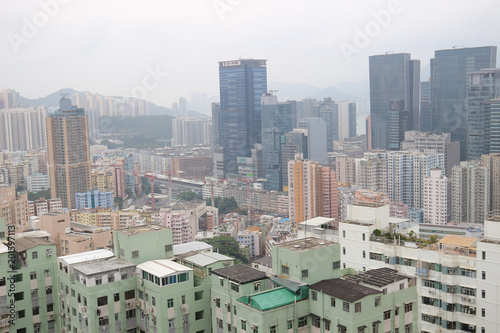 Photo  Kwun Tong , Residential building and Business Area