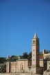 View to St. Anne´s Parish Church in Marsaskala at the Mediterranean Sea, Malta