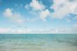 Island beach view