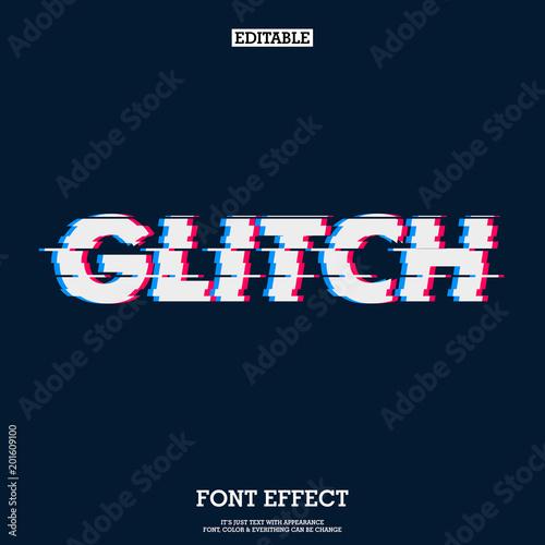 Fotografía  error glitch font effect