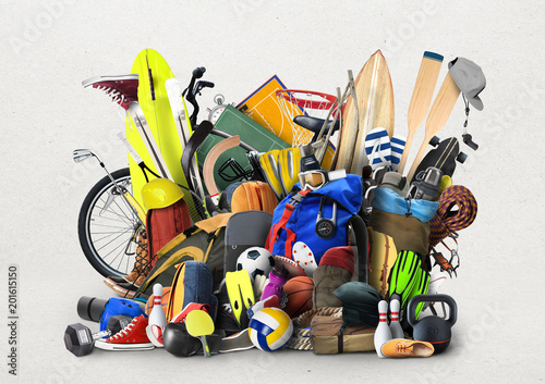 Fototapeta sport sprzet-sportowy