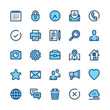 Basic Line Icons Set. Modern Graphic Design Concepts, Simple Symbols, Elements, Pictograms Collection. Minimal Thin Line Design. Premium Quality. Pixel Perfect. Vector Outline Icons