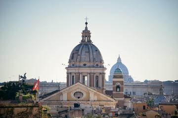Fototapeta na wymiar Rome dome
