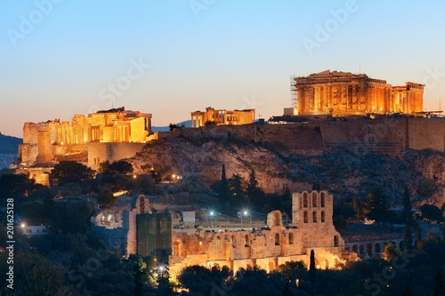 Athènes Athens skyline with Acropolis