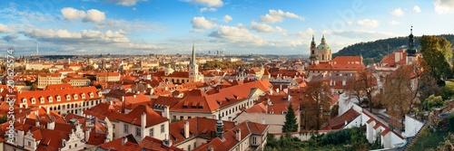 Wall Murals Prague Prague skyline rooftop view panorama