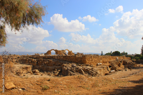 In de dag Rudnes ruins of the Crimea
