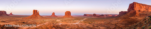 Poster Brick Monument Valley, Arizona, USA
