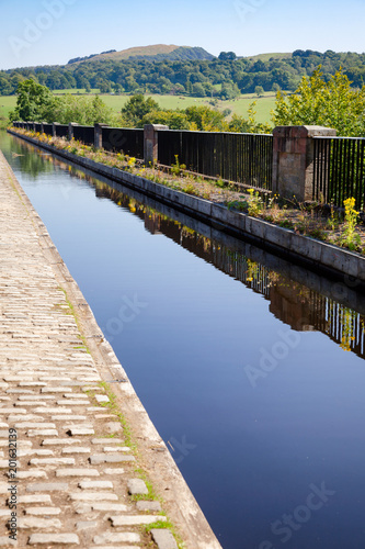 Avon Aqueduct Union Canal Edinburgh Scotland UK Fotobehang