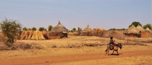 Village In The Area Of Sahel  ...