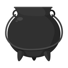 Metal Pot Cauldron Object To C...