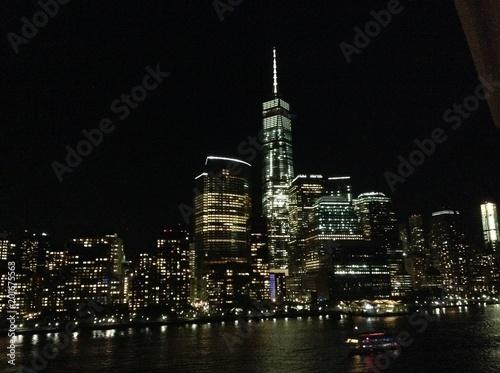 Fototapety, obrazy: Night Skyline
