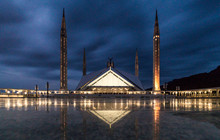 Faisal Mosque In Islamabad, Pa...