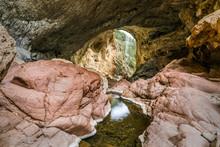 Tonto Natural Bridge Near Payson, Arizona