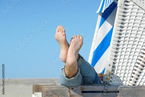 Spoed Foto op Canvas Noordzee Seele baumeln lassen