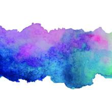 Abstract Bright Watercolor Bac...
