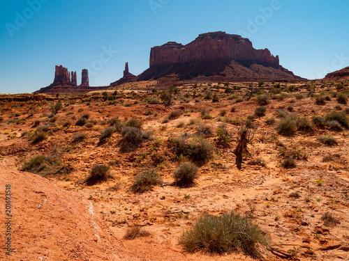 Foto op Canvas Australië Monument Valley