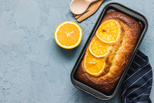 Healthy Citrus Pound Cake On L...
