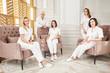 Leinwandbild Motiv One day in the clinic of aesthetic medicine