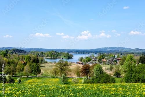Fotografering Frühling am Staffelsee