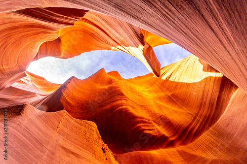 Wall Murals Orange Glow Lower Antelope Canyon