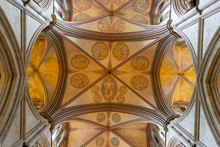 Salisbury Cathedral Ceiling