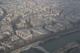 Fototapeta Wieża Eiffla - Paryż, Francja, widok z wieży Eiffla