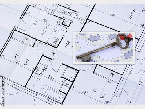 Plan De Construction De Maison Comprar Esta Foto De Stock Y Explorar Imagenes Similares En Adobe Stock Adobe Stock