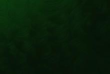 Horizontal Texture Of Green Spiral Pattern Background