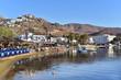 View of Livadi village on Serifos island in Greece